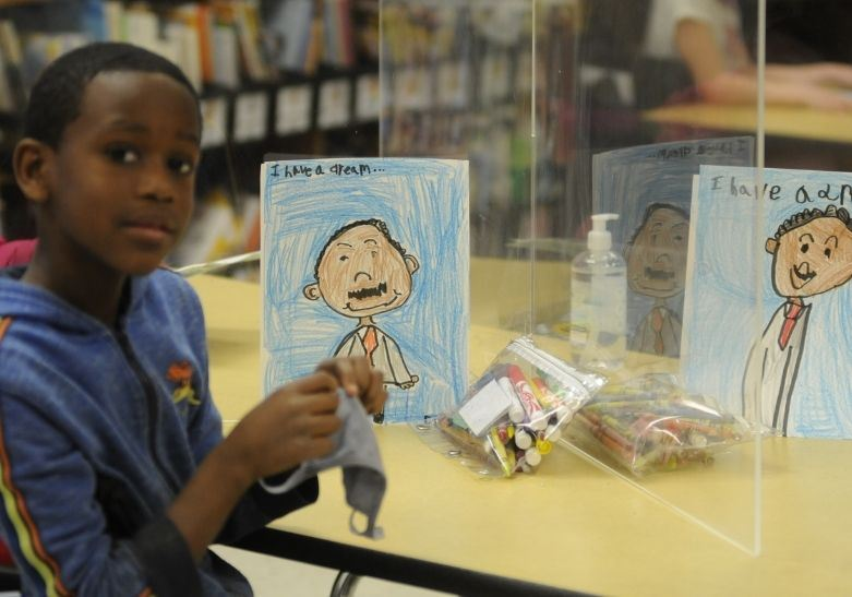 Students learn about MLK and celebrate his life with fun and informative classroom lessons